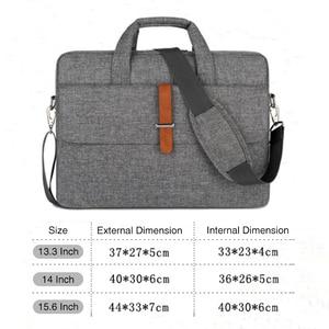 Image 5 - Waterproof Laptop Bag 17.3 Case for Macbook Pro 15 Notebook Bag 14 Inch Laptop Sleeve Laptop Bag 15.6 for Macbook Air 13 13.3,14