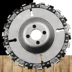 Chain-Plate Removal-Link Stump Angle-Grinder-Tool-Parts Cutting Wood-Carving-Disc