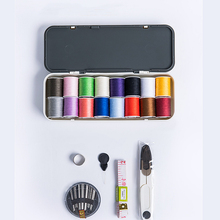 16 colors Portable Household Sewing Box Set Kit Storage Bags Travelling Quilt sewing box set Accessories