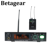 Betagear Stereo 782iem in ear monitor professional stage performance wireless system audio recording studio uhf wireless monitor