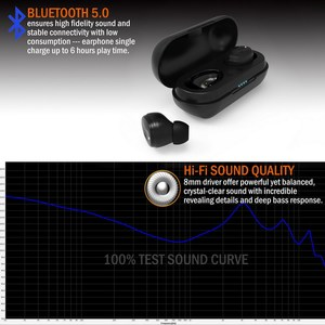 Image 4 - [improved] TENNMAK True Wireless Earbuds TWS06   Bluetooth 5.0 Stereo Hi Fi Sound with Deep Bass Wireless Earphones