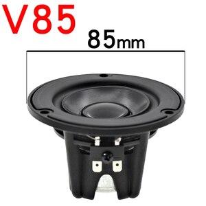 Image 3 - HIFIDIY bacino Alluminio Hi Fi 2 3 3.5 pollici 65 millimetri di frequenza Completa unità di altoparlante 4OHM 20W di Alto Alto basso altoparlante V65/85/95 millimetri