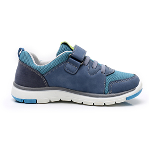 Image 4 - Apakowa Spring Autumn Boys Casual Shoes PU Leather Toddler Kids Mesh Breathable Boys Sneakers Fashion Sports Trainer EU 26 31