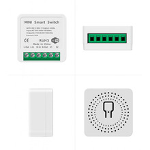 16A Tuya WiFi Smart Switch Light Modification Module Switch Controller APP/Voice Control Compatible with Alexa Google Home