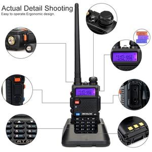 Image 4 - Retevis RT5R Walkie Talkie 2pcs 5W 128CH USB VHF UHF Ham Radio Two way Radio Comunicador For Hunting/Airsoft Baofeng UV 5R UV5R