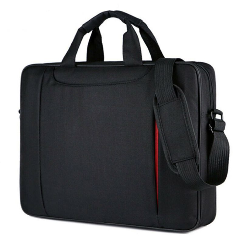 15.6 Inch Ultra-thin <font><b>Notebook</b></font> Storage Shoulder Bag Business <font><b>Travel</b></font> Carrying <font><b>Case</b></font> Handbag for Laptop PC Computer image