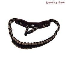 1 шт плетеный шнур с бантом на запястье ремень для стрельбы