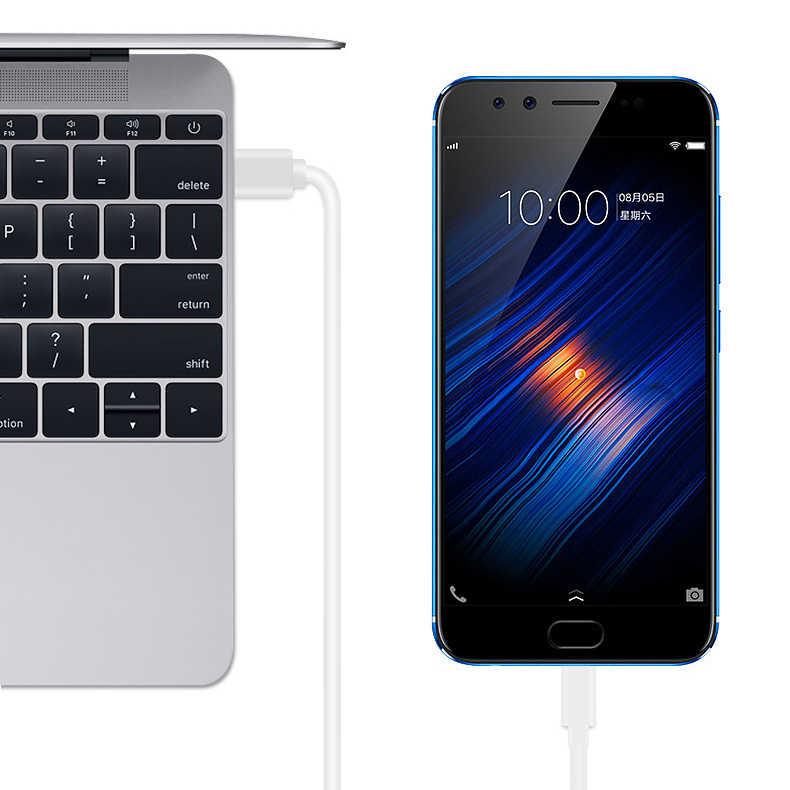USB C ประเภท C สำหรับ Samsung S10 S9 S8 Fast Charge Type-C โทรศัพท์มือถือชาร์จสาย USB C สำหรับ Xiaomi Mi9 Redmi k20 pro