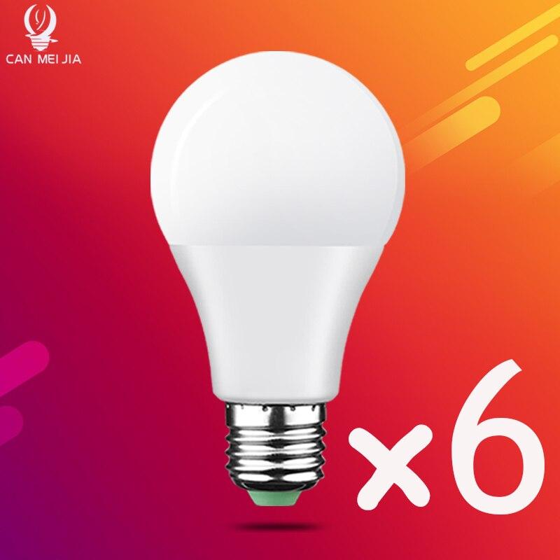 E27 LED Bulb Lamps 18W 15W 12W 9W 7W 5W 3W AC 220V 240V Led Light Bulb Lampada Bombilla LED Spotlight Table Lamp Real Power
