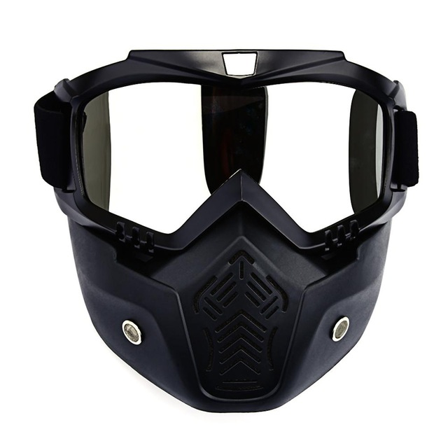 Skiing Eyewear Winter Windproof Skiing Glasses Snowmobile Goggles Motocross Sunglasses With Face Mask Ski Snowboard 6 Colors