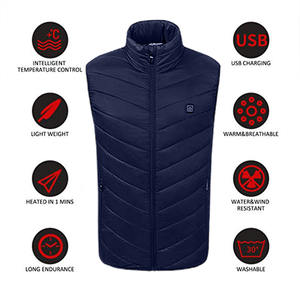 Body-Warmer Heating-Coat Hot-Jacket Usb-Physiotherapy Down-Cotton Heated Winter 5-12v