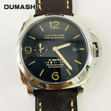 OUMASHI Luxury Watches men Automatic Mechanical Power Reserv
