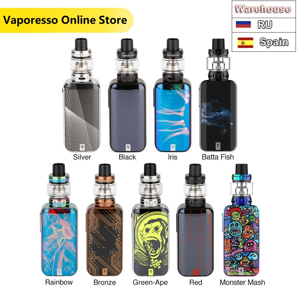 Original 220W Vaporesso LUXE S With SKRR-S Tank Vape Kit With 8ml Atomizer VS Vaporesso Luxe Electronic Cigarette Vape Kit