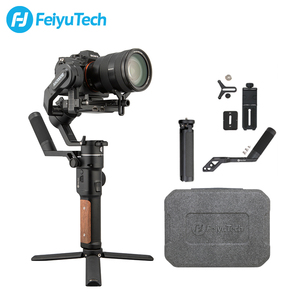 Opened BOX FeiyuTech AK2000S DSLR Camera Stabilizer Handheld Video Gimbal fit for DSLR Mirrorless Camera for Canon Nikon Sony