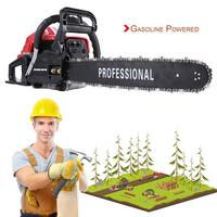 52cc 2 Stroke 20 Inch Gasoline Powered Chainsaw For Sawing Firewood For Thinning Out Scrub Cutting Down Small Trees