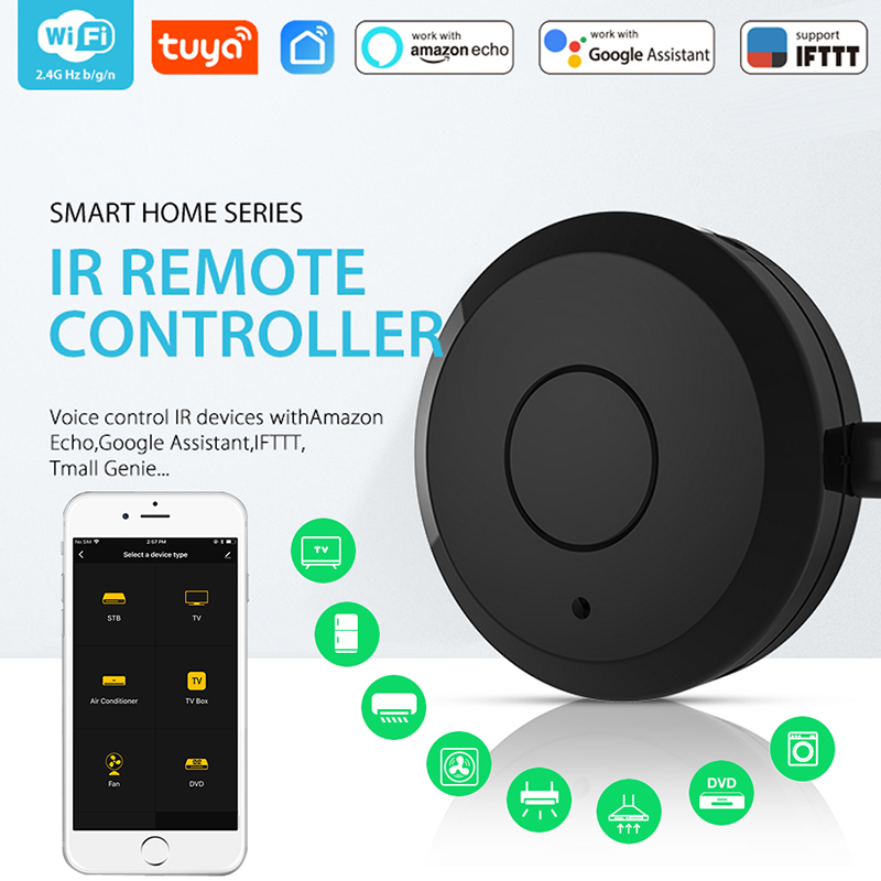 NEO Coolcam WiFi IR Remote Control Universal Smart Remote Controller For Air Conditioner TV Support Echo Google Home IFTTT