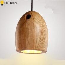 Vintage Home Decor Kitchen Pendant Lights Chinese Classical Wooden Pendant Lamps Modern Design Art Hanglamp Cafe Pendant Light