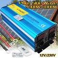 Reine Sinus Welle 8000W DC 12V/24V ZU AC 220V/230V/240V solar power inverter mit 3,1 EINE USB dual led-anzeige EU buchse