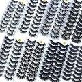 Новинка 2/10 пар 8-25 мм 3 днорковые ресницы оптом искусственные толстые длинные висячие натуральные норковые ресницы пакет короткие Оптовые н...