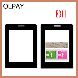 Image 2 - Mobile Phone Lens For Philips E180 E181 E311 Front panel lens Not Glass Touch Screen With Free Adhesive+Wipes