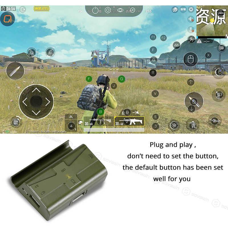 Sovawin G4 PUBG контроллер мобильный контроллер Bluetooth игровая клавиатура мышь конвертер проводной телефон геймпад Android для iPhone