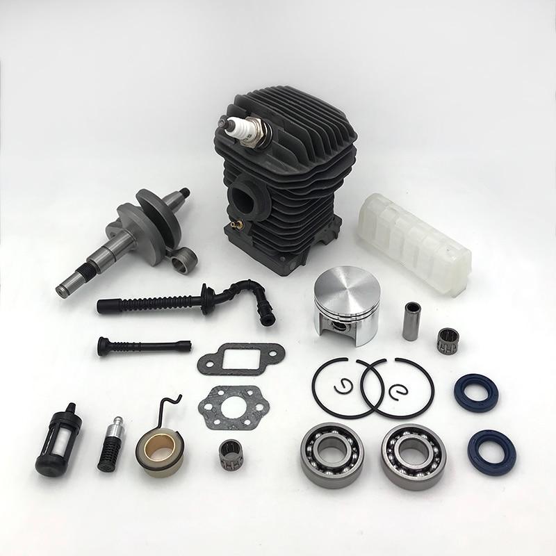 HUNDURE 42.5mm Cylinder Piston Assy Air Filter Fuel Oil Hose Crankshaft Kit For STIHL MS250 MS230 025 023 Chainsaw Parts
