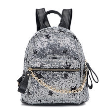 2019 new Japanese Korean backpack female fashion stars sequined women's bags casual backpack student bags school bags(China)