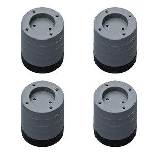 Image 3 - Coussinet universel pour les pieds en caoutchouc meubles fixes antidérapants Machine à laver, accessoires étanches, tapis de sol Anti Vibration, pour la maison
