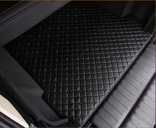 цена на Waterproof Carpet Durable Rugs Custom Special Car Trunk Mats for Cadillac ATS CTS XTS Escalade SLS XTS ATSL CT6 XT5 SRX