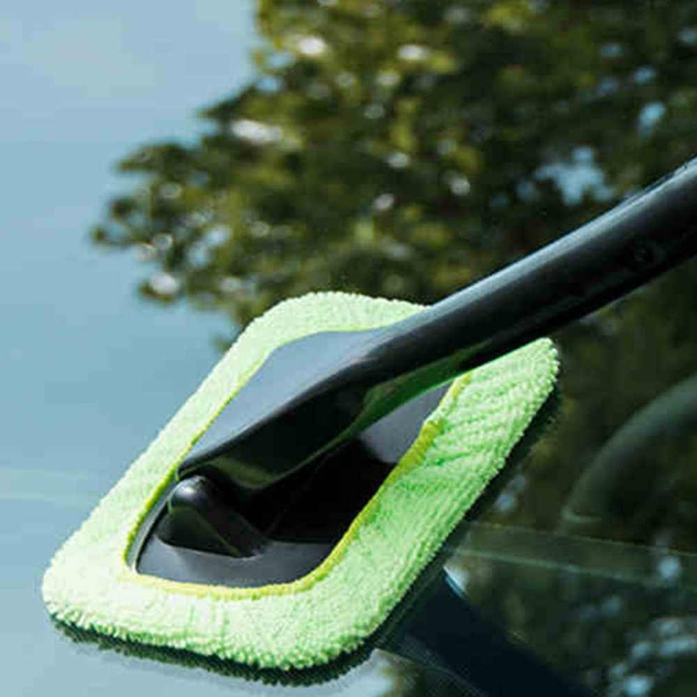 新車モップクリーニング窓風防曇クリーニングツールブラシ洗浄ぼろワイプダスターホーム office の自動窓ガラス布ホット
