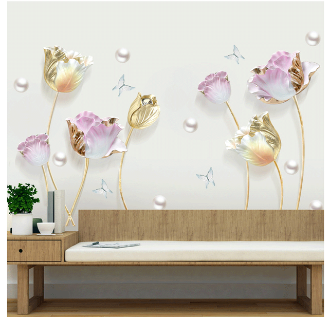 Flower 3D Set 70*110cm 10