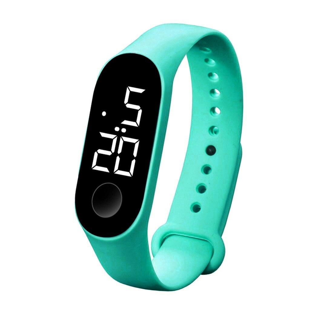 H87a077adb9fe479082889ef31ddb6576O LED Electronic Sports Luminous Sensor Watches Fashion Men and Women Watches Dress Watch  fashion Waterproof Men's digital Watch