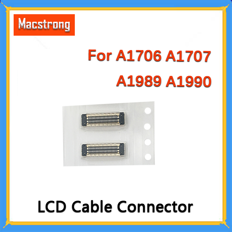 New Replacement A1706 LCD Cable Connector for MackBook Pro Retina A1706 A1707 A1989 <font><b>A1990</b></font> <font><b>Display</b></font> Cable Connector On Motherboard image