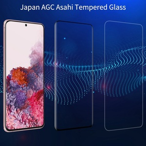 Image 2 - NILLKIN 3D DS MAX واقي شاشة لهاتف Samsung Galaxy S20 ، زجاج مقوى 9H ، آمن