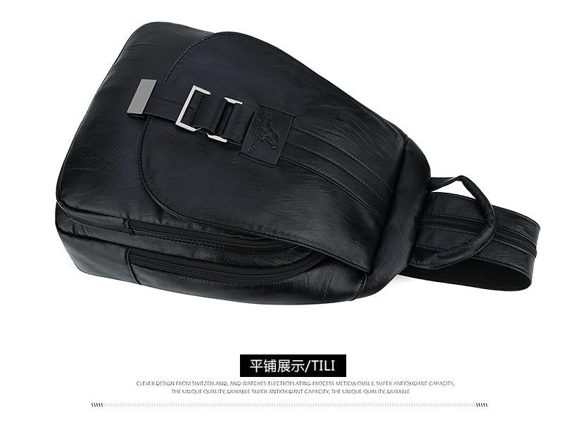 Women's Vintage Leather Backpack 21
