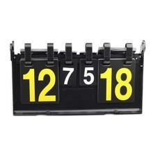 Game Sport Scoreboard 4 Digit Football Basketball Soccer Volleyball Handball Tennis Sports Scoreboards