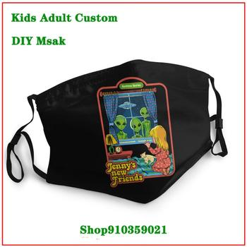 Kawaii Shark DIY mondmasker Luxury Brand mascarilla lavable    Fashion Brands masque tissus lavable  New Coming Vintage mascara