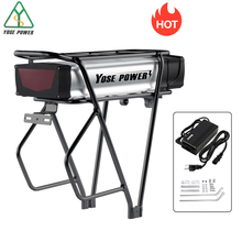 YOSE POWER Electric Bike Lithium Battery 48V 20Ah Rear Rack Ebike Battery for 26''-28''