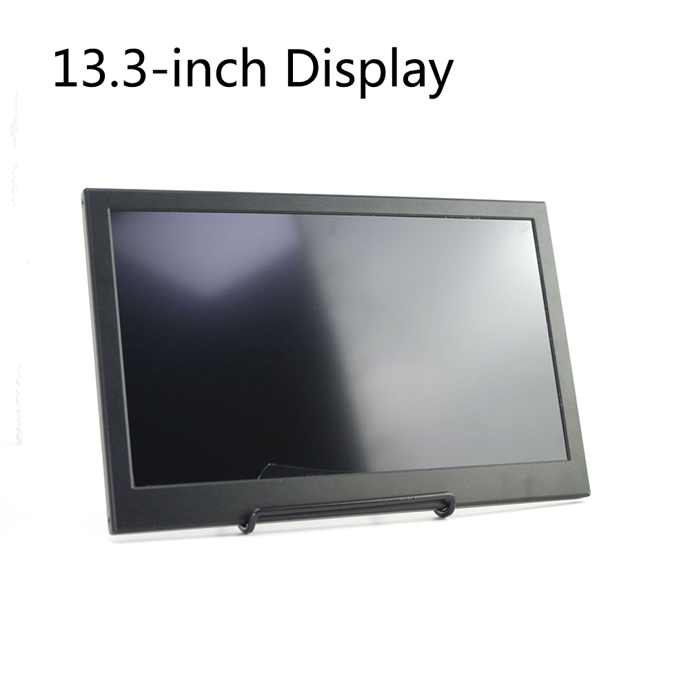 13.3 Inch Ultra Thin Dual HDMI With Speaker Portable Monitor Eye Care Home Office IPS Display Mini Screen Multi Port Wide Angle