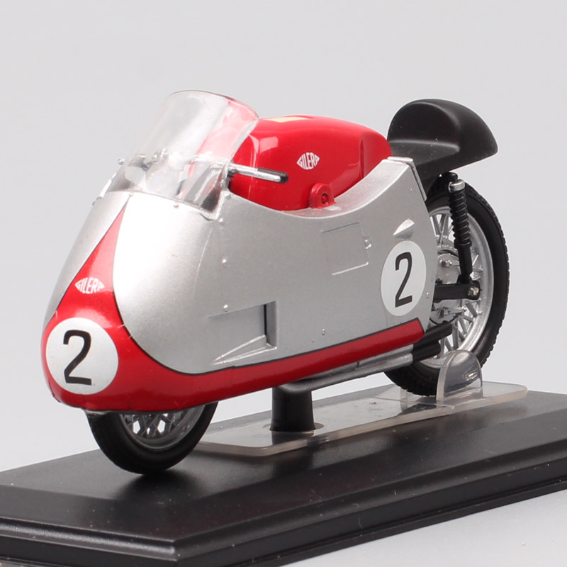 1/22 Scale Tiny Italeri Vintage Classics Gilera 4cil 500cc GP 1955 Rider No.2 Geoff Duke Motorcycle Diecasts & Toy Vehicles Bike