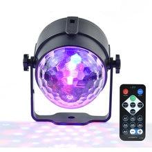 Ledsonline мини rgb 3 Вт Хрустальный волшебный шар светодиодный