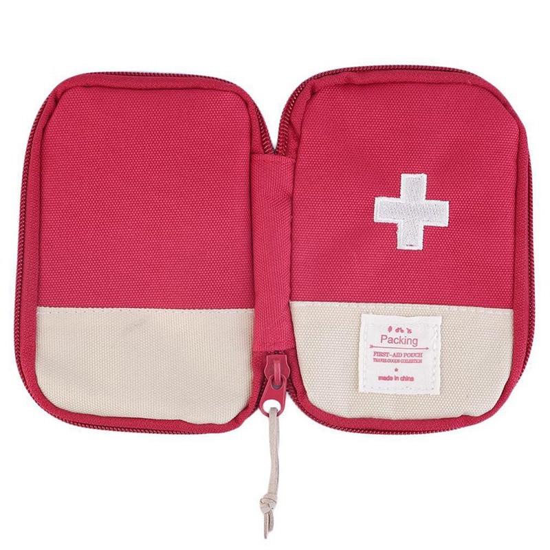 Image 5 - Наружная аптечка первой помощи, аптечка для лекарственных  средств, коробка для таблеток, домашний набор для выживания в  автомобиле, маленький чехол 600D ОксфордАварийные наборы   -