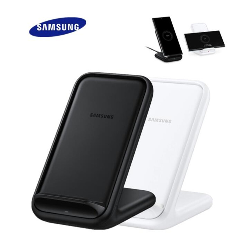 Оригинал, Samsung, беспроводное зарядное устройство Подставка EP-N5200 быстрая Qi Беспроводная зарядка для Samsung Galaxy S21 S20 ультра Примечание 10 10 + Прим...