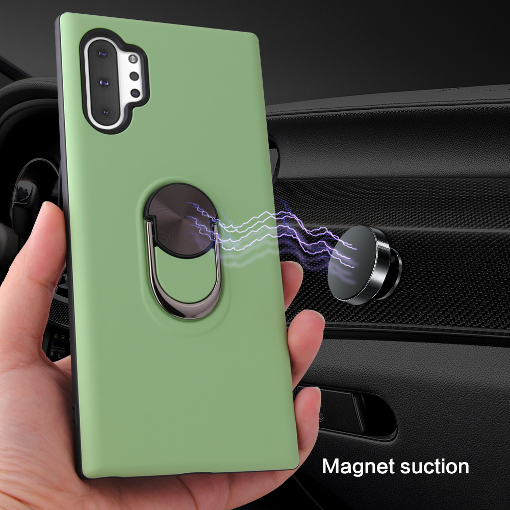 Armor Magnetic Phone Case For Samsung Galaxy Note 10 Pro Cover S10 Plus A10 A30 A50 A70
