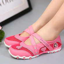 2021 Girls Sandals Mesh New Arrival Fair Maiden Summer Kids Hollow Princess Comfortable High Quality Casual Shoes