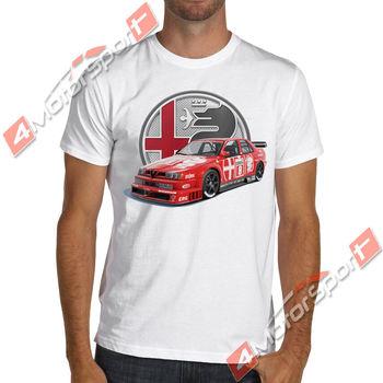 Camiseta Unisex Alfa Romeo 155 V6 Ti 1993 Dtm Racing, Nurburgring 2019