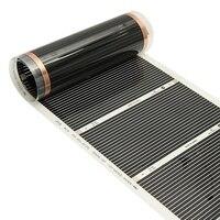 Инфракрасный нагревательный пол 2 м-50 см Инфракрасный нагревательный фольгированный Инфракрасный нагревательный коврик
