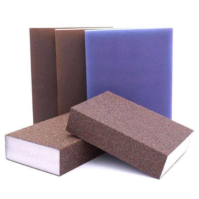 1 uds/60/80/120/180/240/320/400 Grit pulido esponja para lijar bloque de papel de lija herramienta lijadora herramientas papel de lija discos de lijado