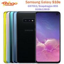 Samsung Galaxy S10e G970U1 G970U Octa Core Snapdragon 855 LTE Android cellulare 5.8