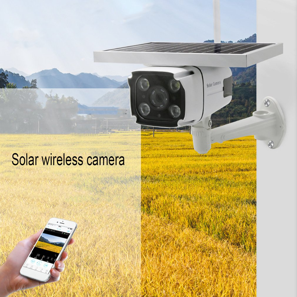 VS-YN88 4G SIM Card Wireless Solar IP Camera 1080P HD Camera IR Night Vision Solar Powered CCTV Surveillance Cam